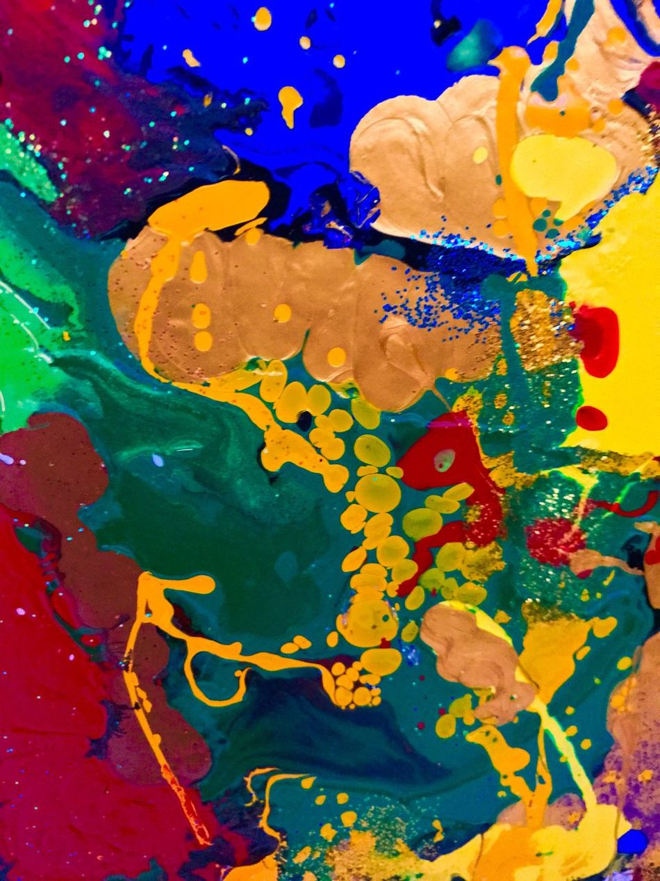 Multi Colored Abstract Backgrounds Paint Close-up Textured  Painted Image No People Oil Paint Day Hobbyphotography Colorexplosion KLIMPI KLIMPERATOR Klimpi-klimperator Colorful