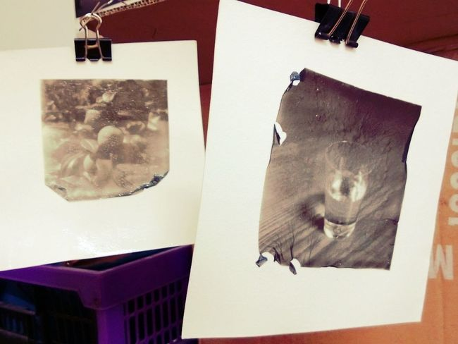 Photo Manipulation with Polaroid by Impossible Project