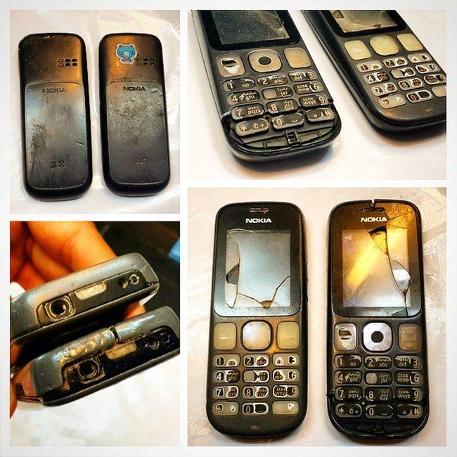 Nokia  Cellphone نوکیا گوشی مصدوم له داغون 11قوه چراغ_قوه