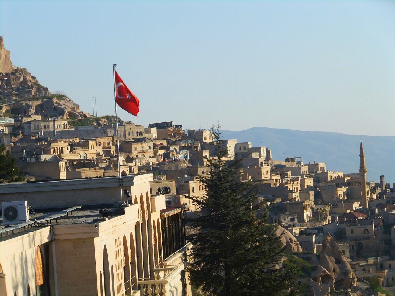 House Flag Turkey Nevsehir Great View OpenEdit Architecture Red Redflag Popular Photos