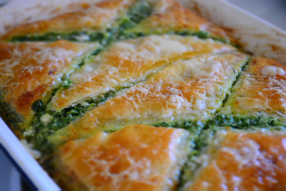 Spinach Pie 2 Close-up Detail Focus On Foreground Food Freshness Greek Greek Food Indulgence Meal No People Ready-to-eat Selective Focus Serving Size Spinach Spinach Pie Still Life Temptation Moms Cooking Spinach And Feta Spinachpie Greekstyle Phyllo Hot Food The Street Photographer - 2016 EyeEm Awards Home Cooked