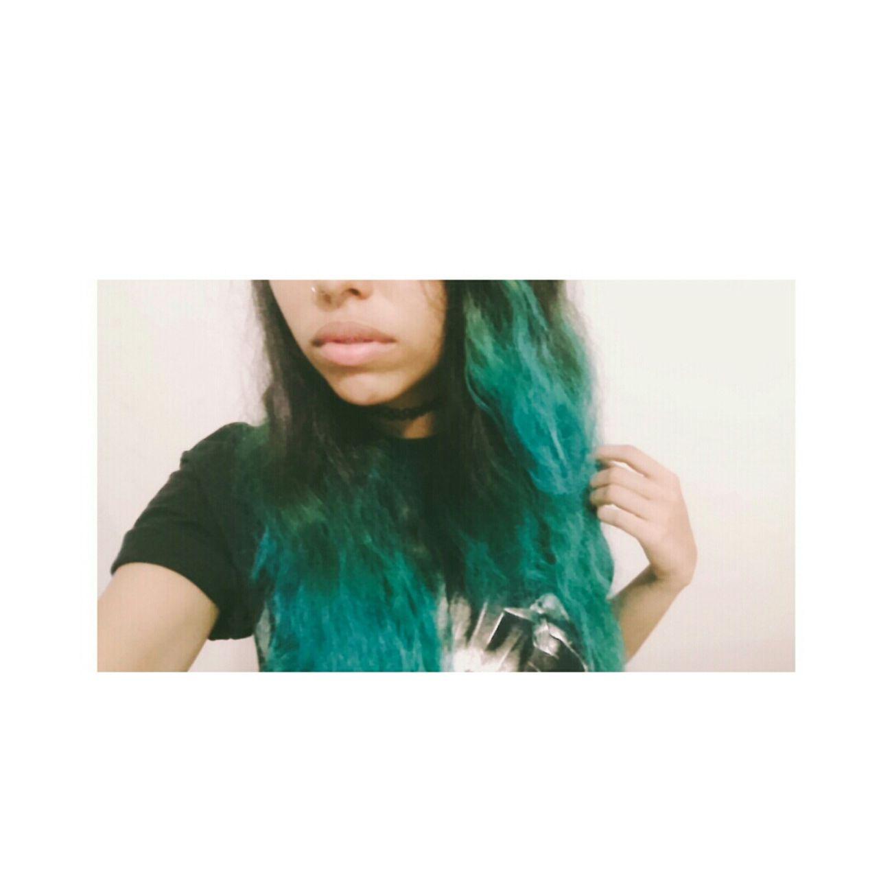 Blue Hair *o* ♡ ❁
