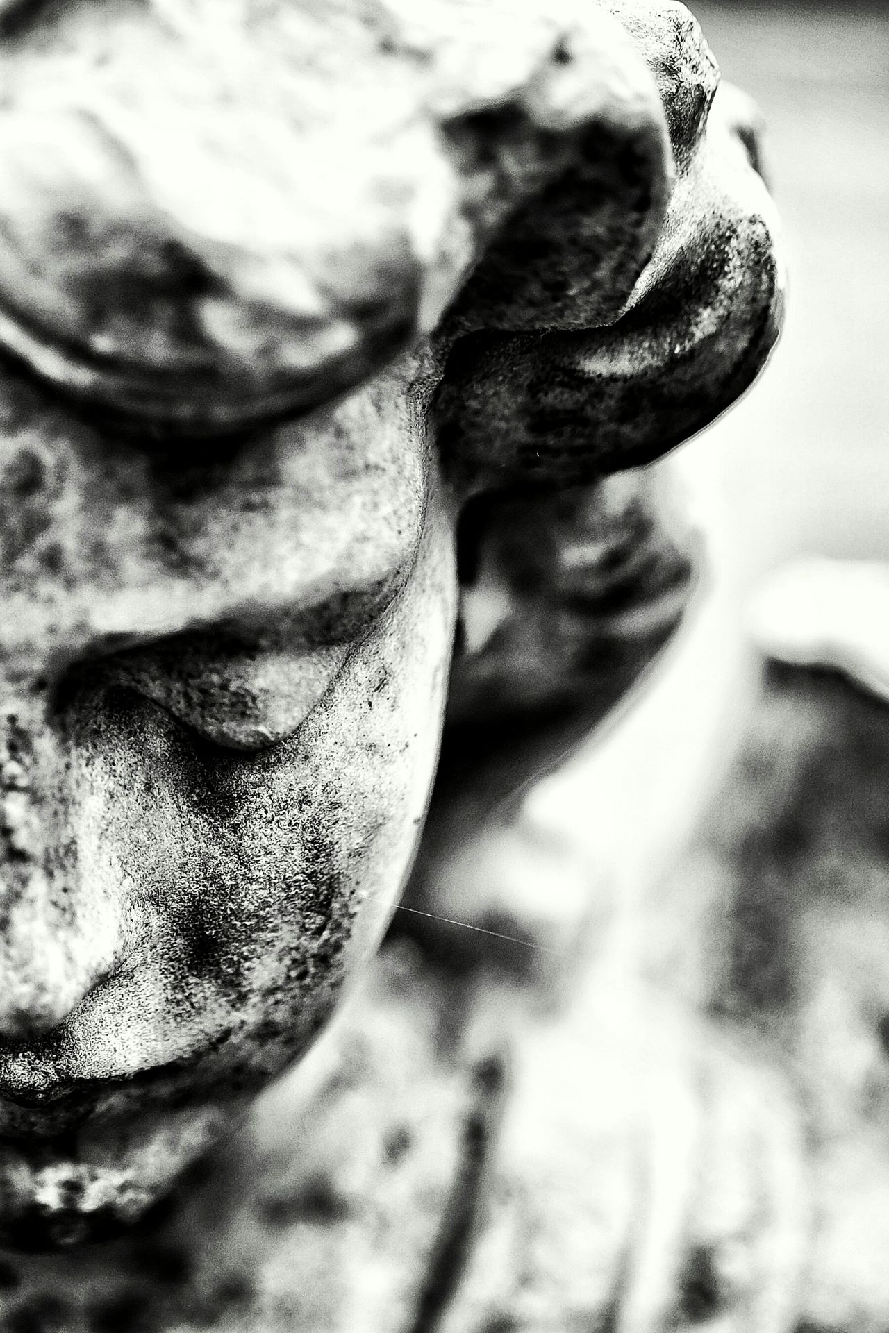 Close-up Day Portrait Outdoors No People Tombstone Angel