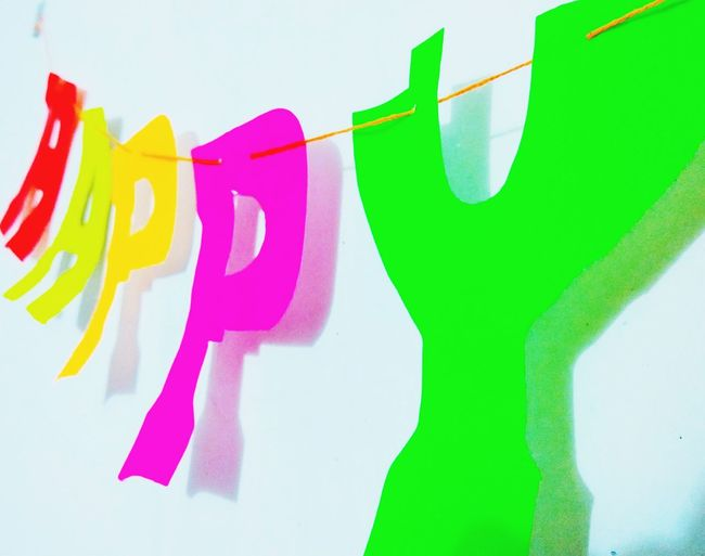 Multi Colored Paint Green Color No People Close-up Day Happy :) Be. Ready. Behappy:)
