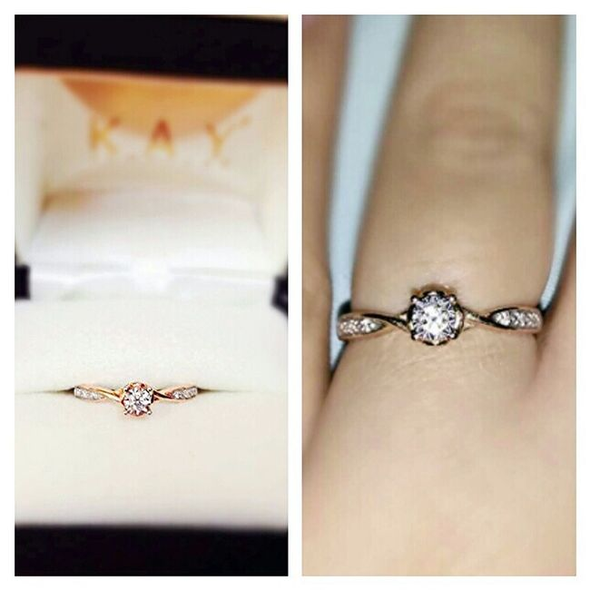 Last Valentines day 2014 the love of my life got down on one knee and ask me if I would marry him. Within a heart beat, I said YES! Engagement Ring Engaged Engagedtoawonderfulman SoontobeMrs Soontobewife Rosegoldring ItTrulyIsTheThoughtThatCounts Ilovemyring Ilovemyfiance Kayjeweler