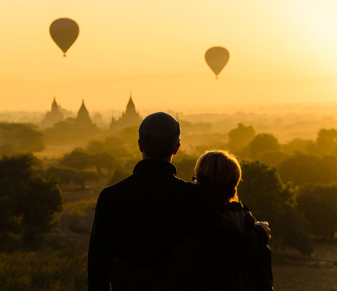 Sunrise in Bagan with my Mom. Sharing Myanmar with her is just incredible! Feel The Journey