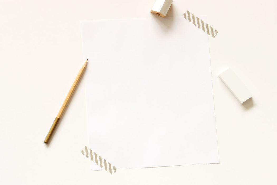 Art studio Art Studio Art Supplies Artists Desk Business Desk Desk Top Education Eraser Indoors  Minimalist Mock Up No People Office Paper Pencil Planning Productivity Sketching Styled White White Background Work Work Space Writing Instrument