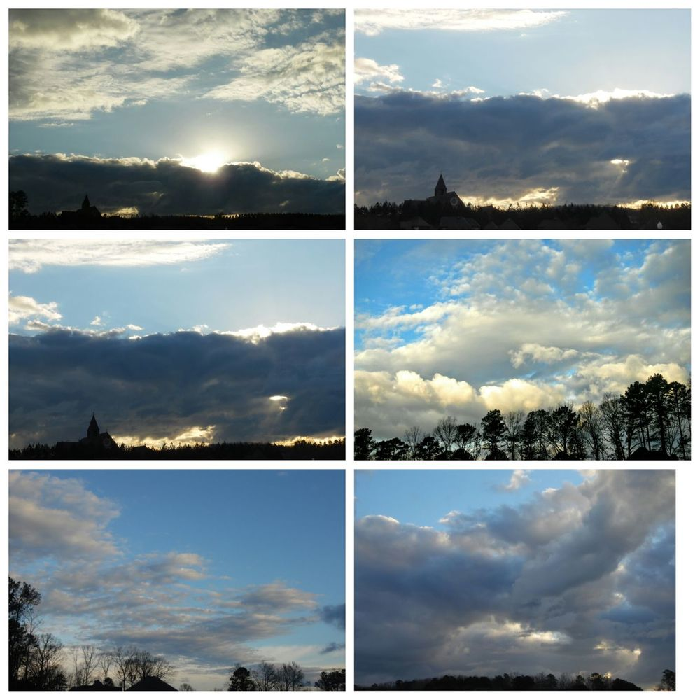 Taking Photos Sunset #sun #clouds #skylovers #sky #nature #beautifulinnature #naturalbeauty #photography #landscape Clouds And Sky Sunrise_sunsets_aroundworld Beautiful Surroundings Spooky Atmosphere Enjoying Life skys over Alabama Before Severe Weather Moves In Tomorrow