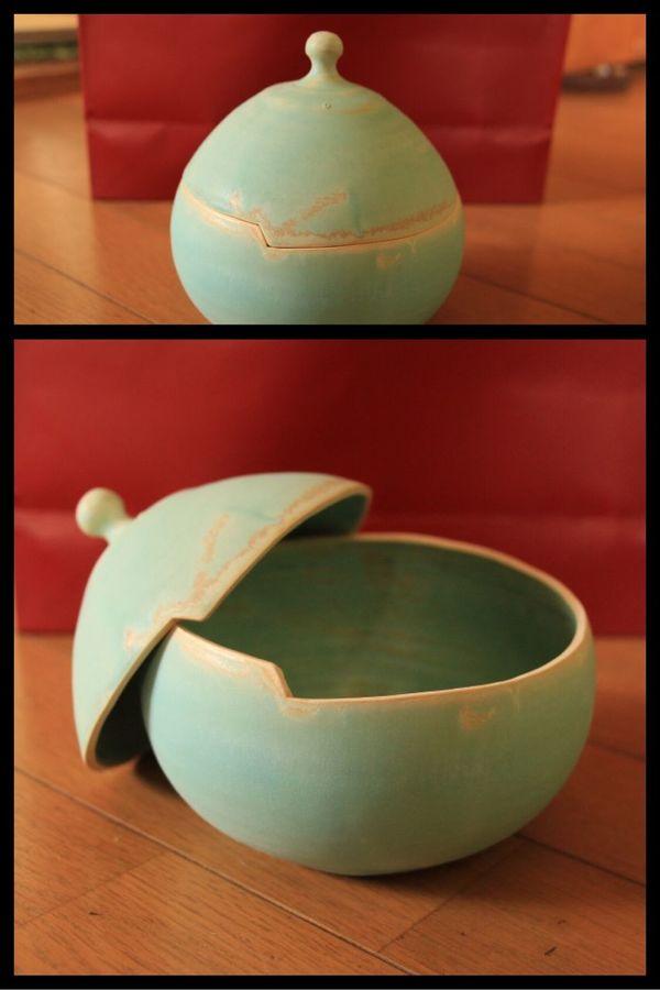 一目惚れして買ったんだけど、こいつはどう使おうか。 大堀相馬焼 京月窯 焼物 陶器