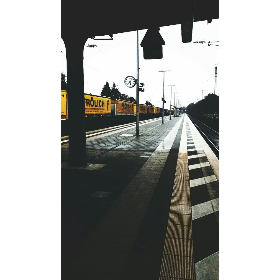 Train Station Rainy Day Autumn🍁🍁🍁 Trist First Eyeem Photo