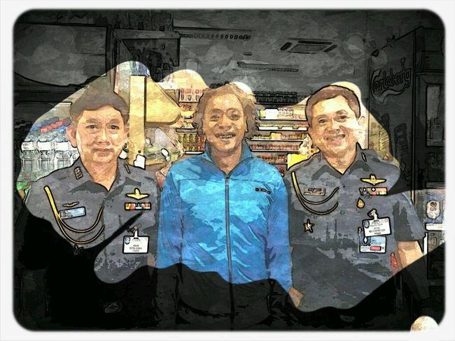 moi et des officiels Thaïlandais en mission à Geneve Thaïlande