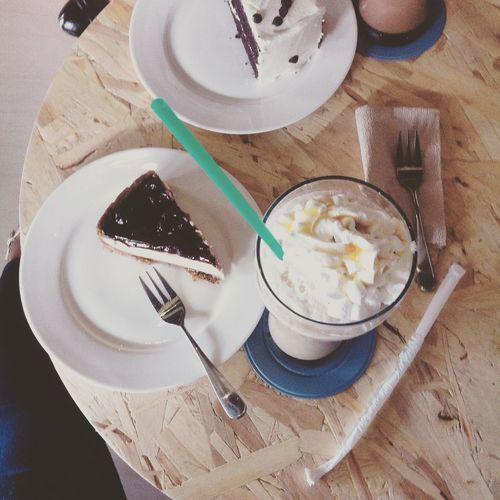 Chillin' 😎 Mocha Frappe Coffee Time Coffee Addict Enjoying Life