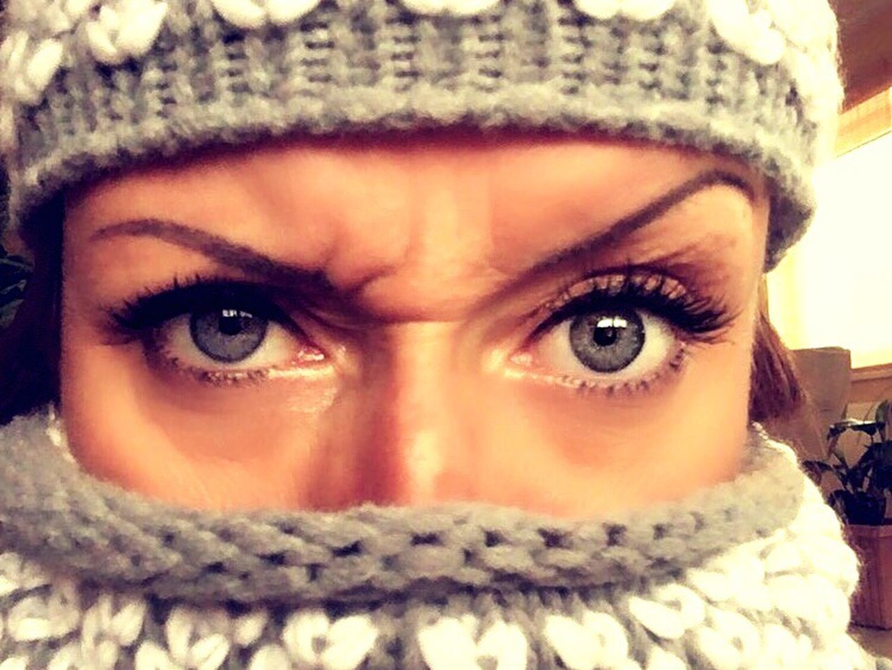 natural born G A N G S T A Looking At Camera Portrait Young Adult Winter Human Face Warm Clothing Young Women Human Eye Eye Greeneyes Beautiful Woman Cold Temperature Cold Days Bestoftheday Eye4photography  Real People Gangsta Gangsters Paradise Human Body Part Lifestyles One Person Girl Front View Headshot