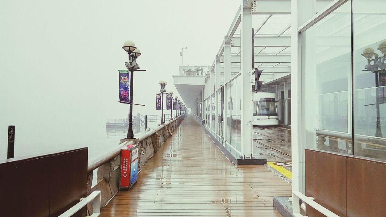 雾中的电车 广州 电车 First Eyeem Photo