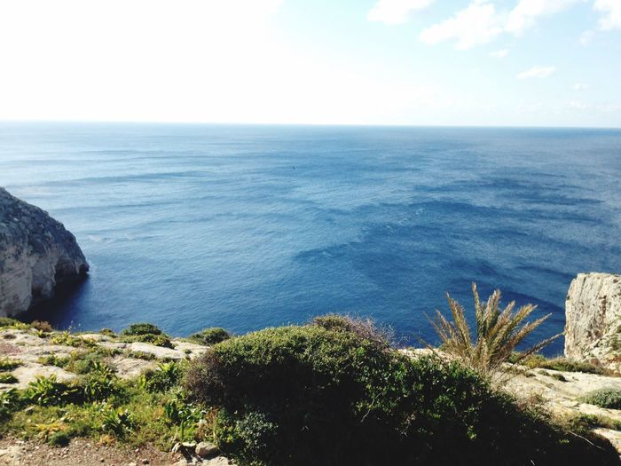 Taking Photos Blue Grotto Sea Cliffs Malta Hello World The Places I've Been Today Nature Enjoying The Sun Enjoying The View