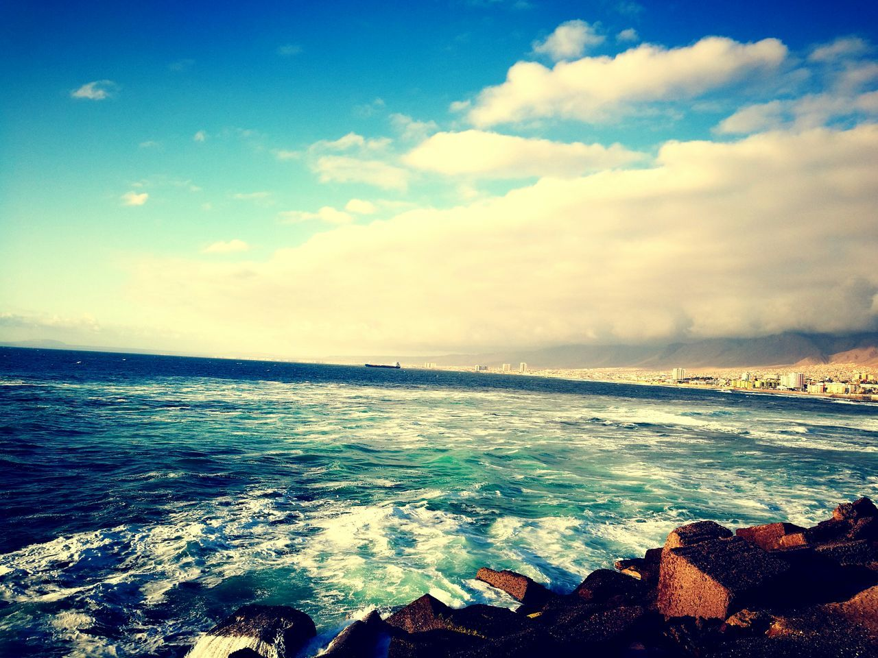 Sea Sky Blue Nature Beach Beauty City Antofagasta First Eyeem Photo