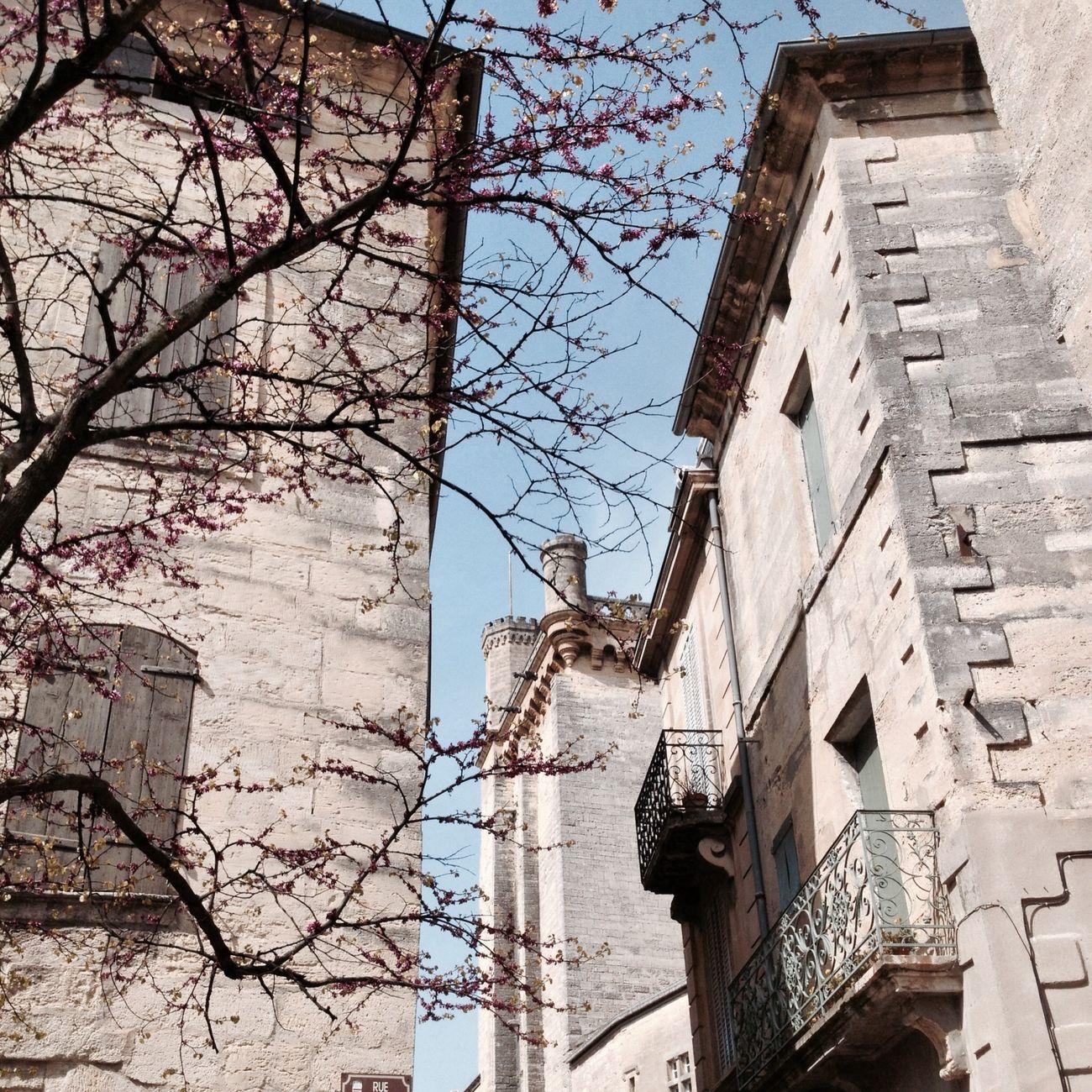 Uzés Provence France Spring