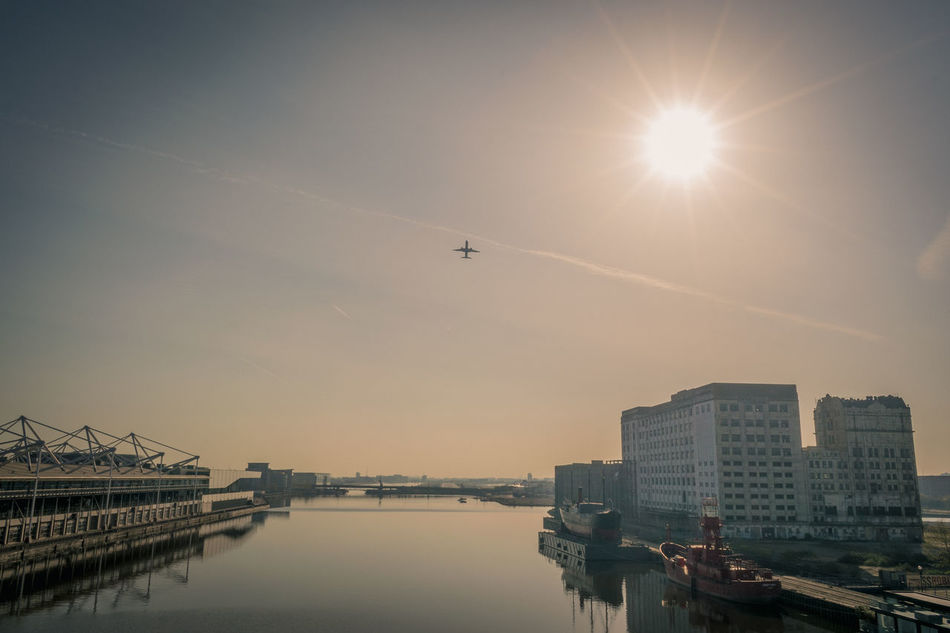 T a k e M e A w a y Flying Transportation Airplane Water City Outdoors Air Vehicle Sunset Building Exterior No People Architecture Airshow Military Sky Day EyeEmNewHere Beautiful Sunrise London Cityscape London City Airport AirPlane ✈ Take Off & Landing Travel Holiday Flight Long Goodbye