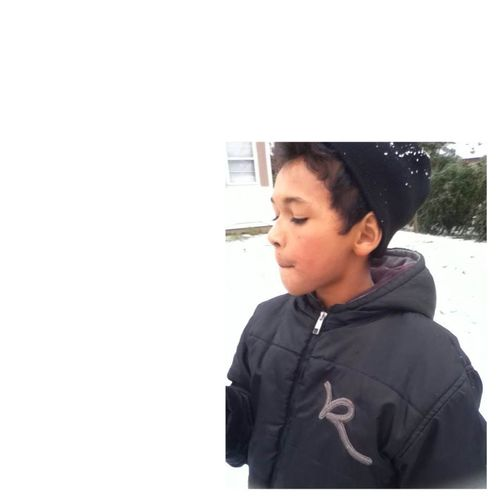 picture of my little brother. (: