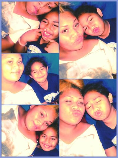 Me & My Mini Me , Tha Keeper Of ALL My Secrets , Tha One Who Errks Me Daay In & Daay Out . My Love !