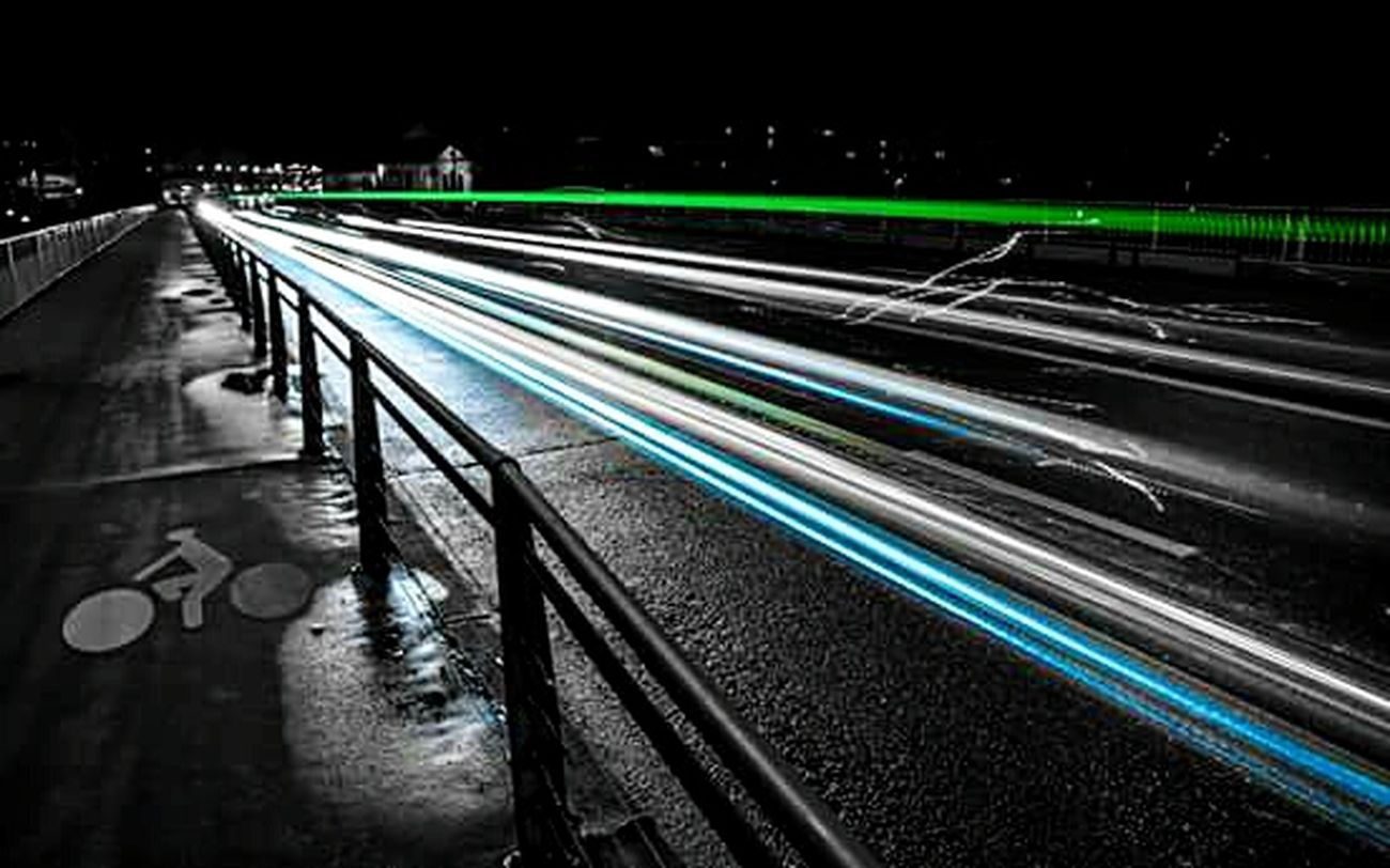 Nightphotography Long Exposure Desaturated