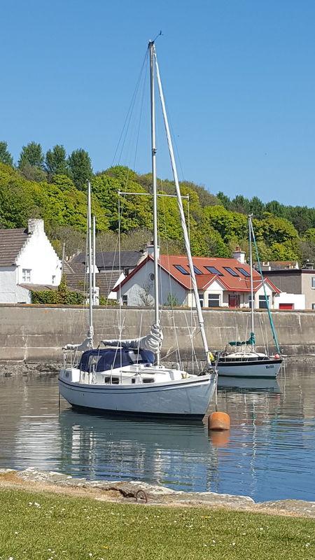 Water Nautical Vessel Sailboat Yacht Transportation Sea Outdoors Moored Harbor Blue Mast Sky Sailing