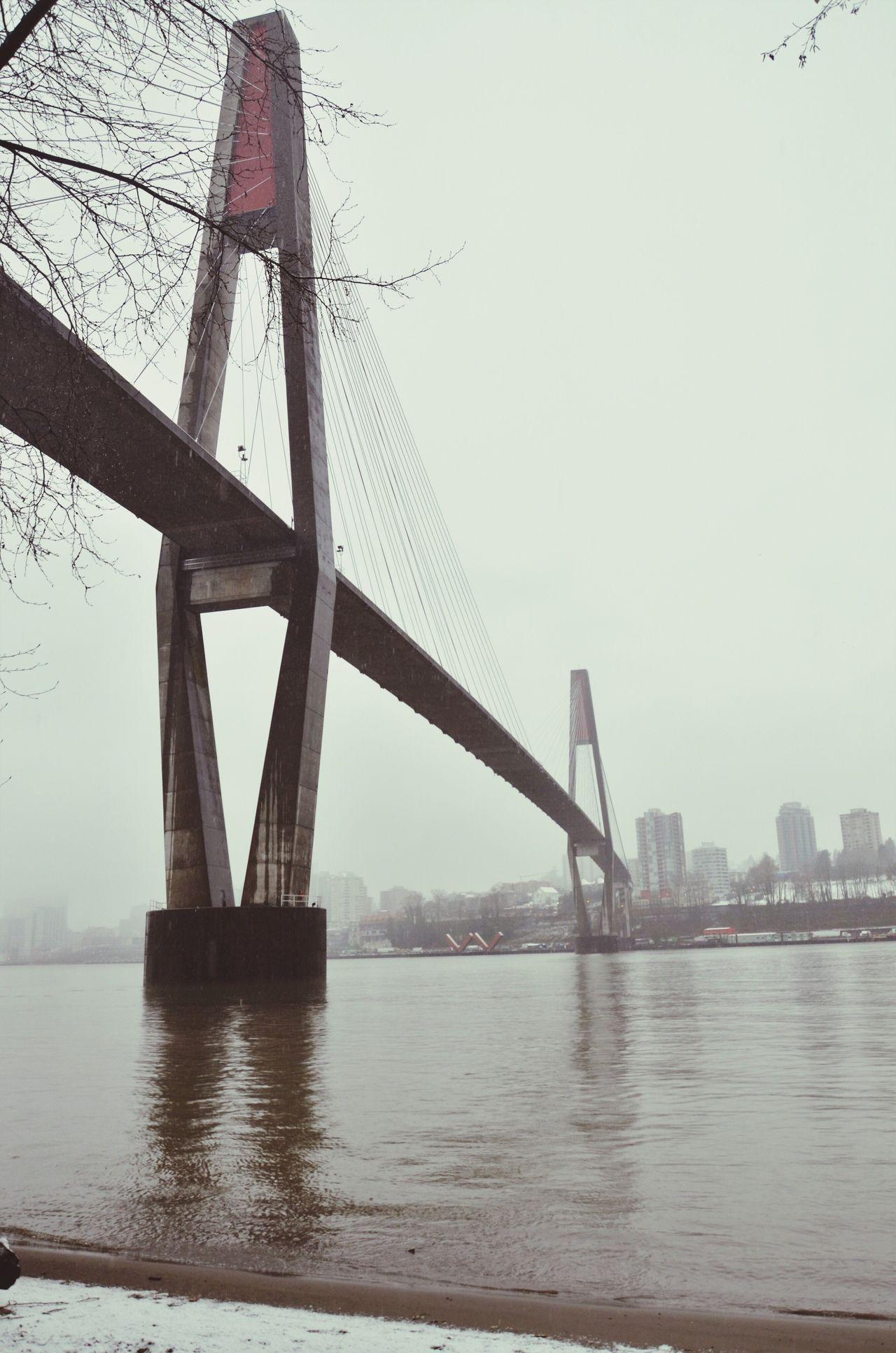 Sky train bridge Bridge - Man Made Structure Architecture River Outdoors Water Sky