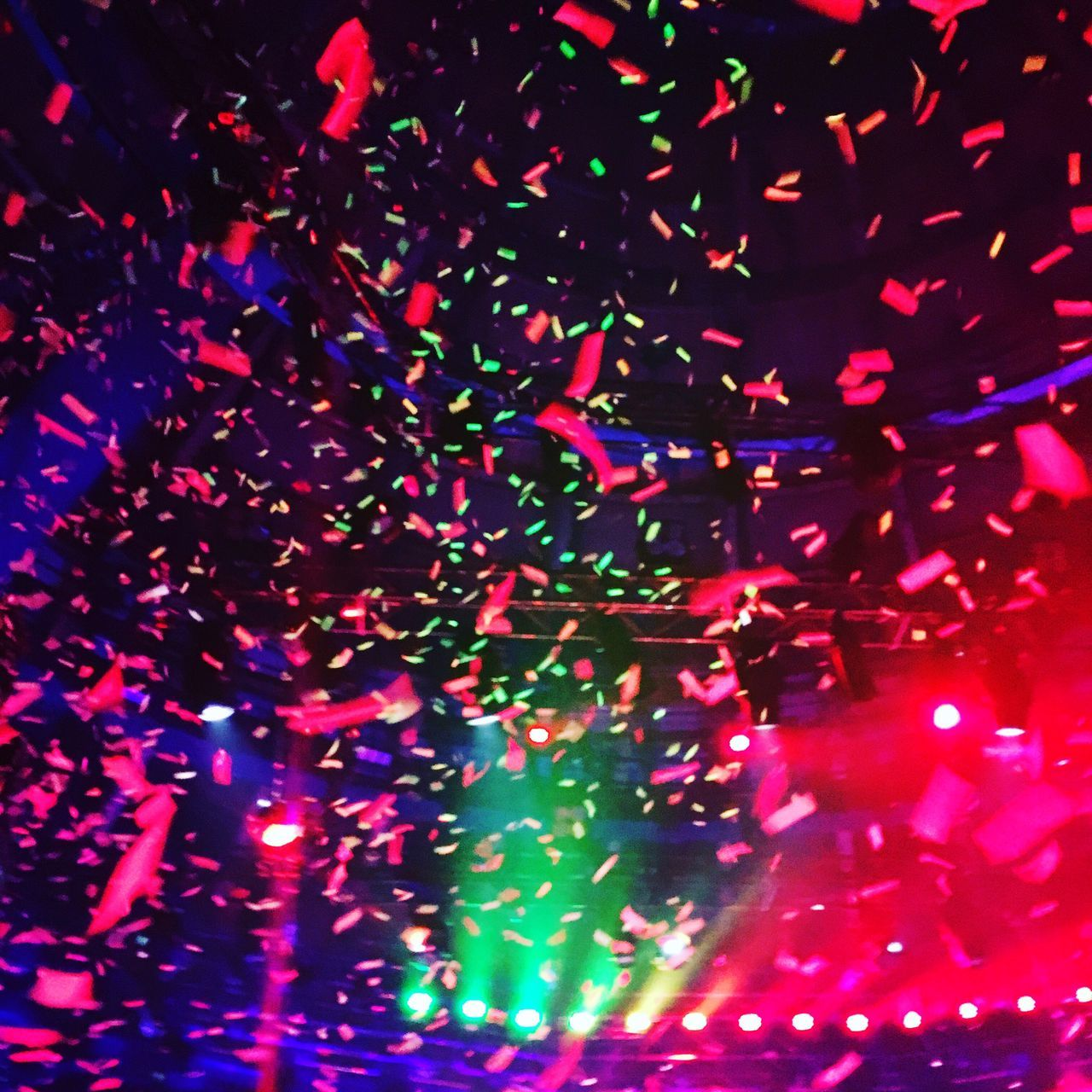 multi colored, illuminated, arts culture and entertainment, pattern, nightclub, music, party - social event, indoors, backgrounds, nightlife, night, close-up, no people, disco lights, black background