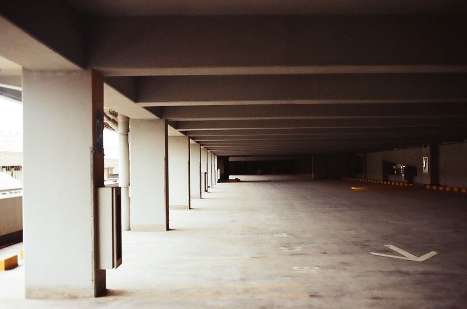 The Secret Spaces Architecture Built Structure Indoors  Architectural Column No People Warehouse Day Film Film Photography Filmisnotdead Film Is Not Dead Filmphotography Filmcamera Film Photo