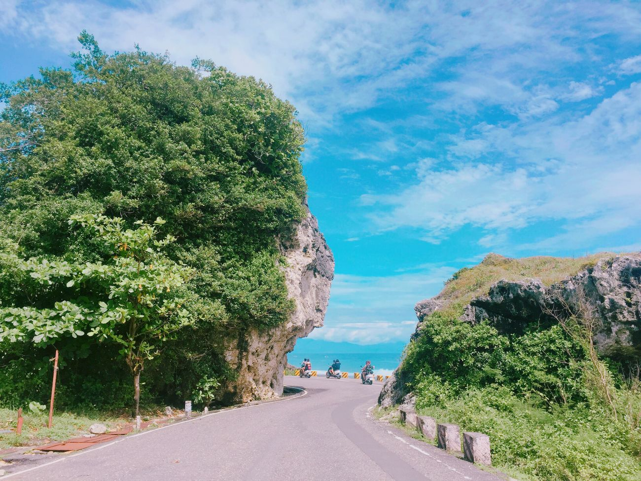 Hello World Road Sea Sky Ocean Taking Photos Holiday Relaxing ☀☀☀ September Taiwan Blue Lovesummer Enjoying Life Sea And Sky 小琉球