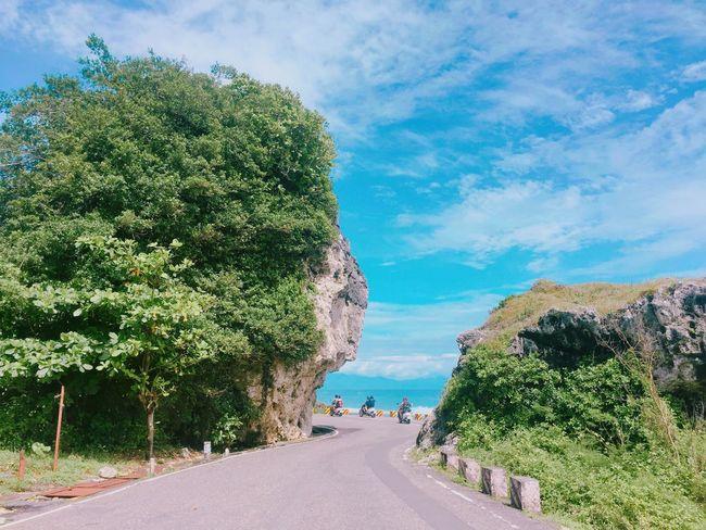 Hello World Road Sea Sky Ocean Taking Photos Holiday Relaxing ☀☀☀ September Taiwan Blue Lovesummer Enjoying Life Sea And Sky 小琉球
