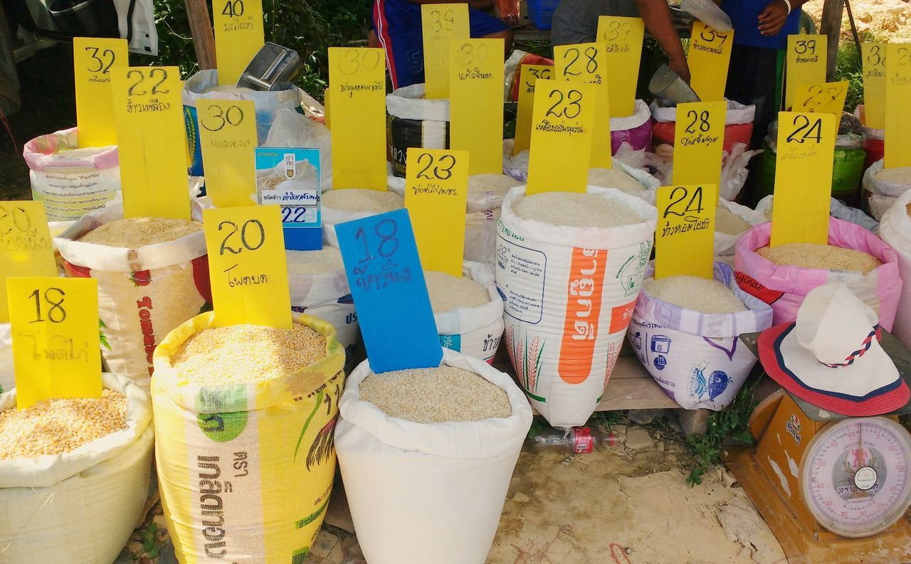 Koh Lanta Outdoor Market Rice Rice Price Rice Sacks Rice Sacks R Us Rice Vendor Thai Rice We Sell Rice