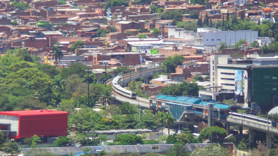 local train station Taking Photos Galaxy Camera Urban Landscape Urban Geometry Farview Buildings Medellin City