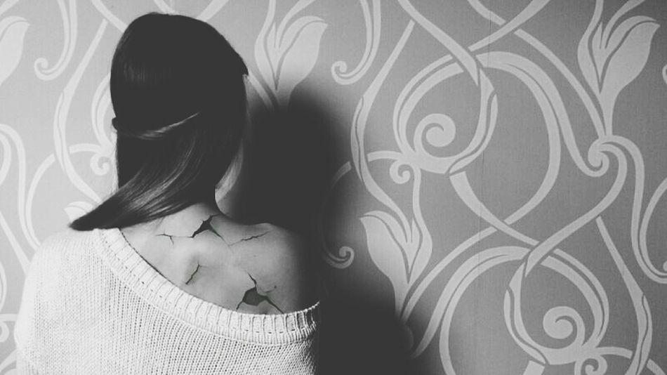 You broke me.. Heartbroken