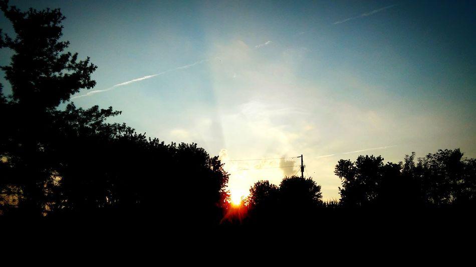 Godsbeauty Sunset Cornfield Farm Life My Country In A Photo Americasbackbone