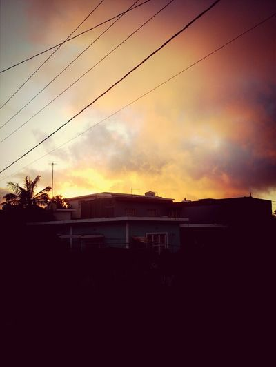 Chilling Friends Road Walking Cold sunset of curepipe. Mauritius.
