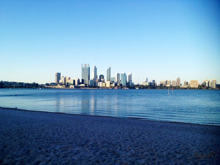 Color Of Life Blue City Perth Cityview Quite Thinking Same