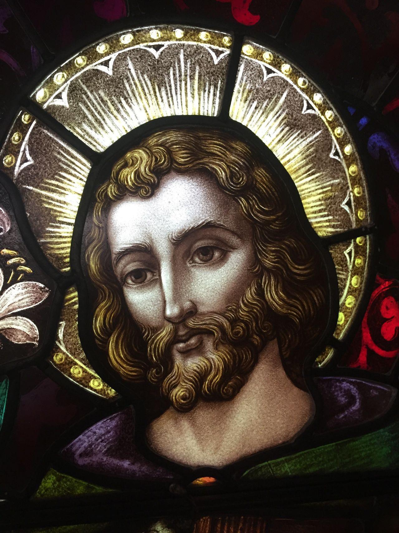St Joseph Stained Glass Saint Joseph