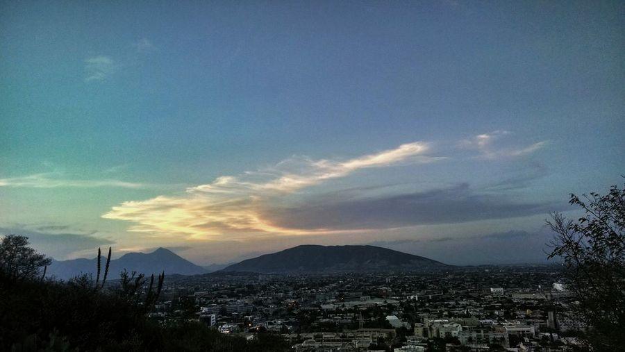 Instagram: hangingoutt / castillohalb Landscape View Clouds Sky