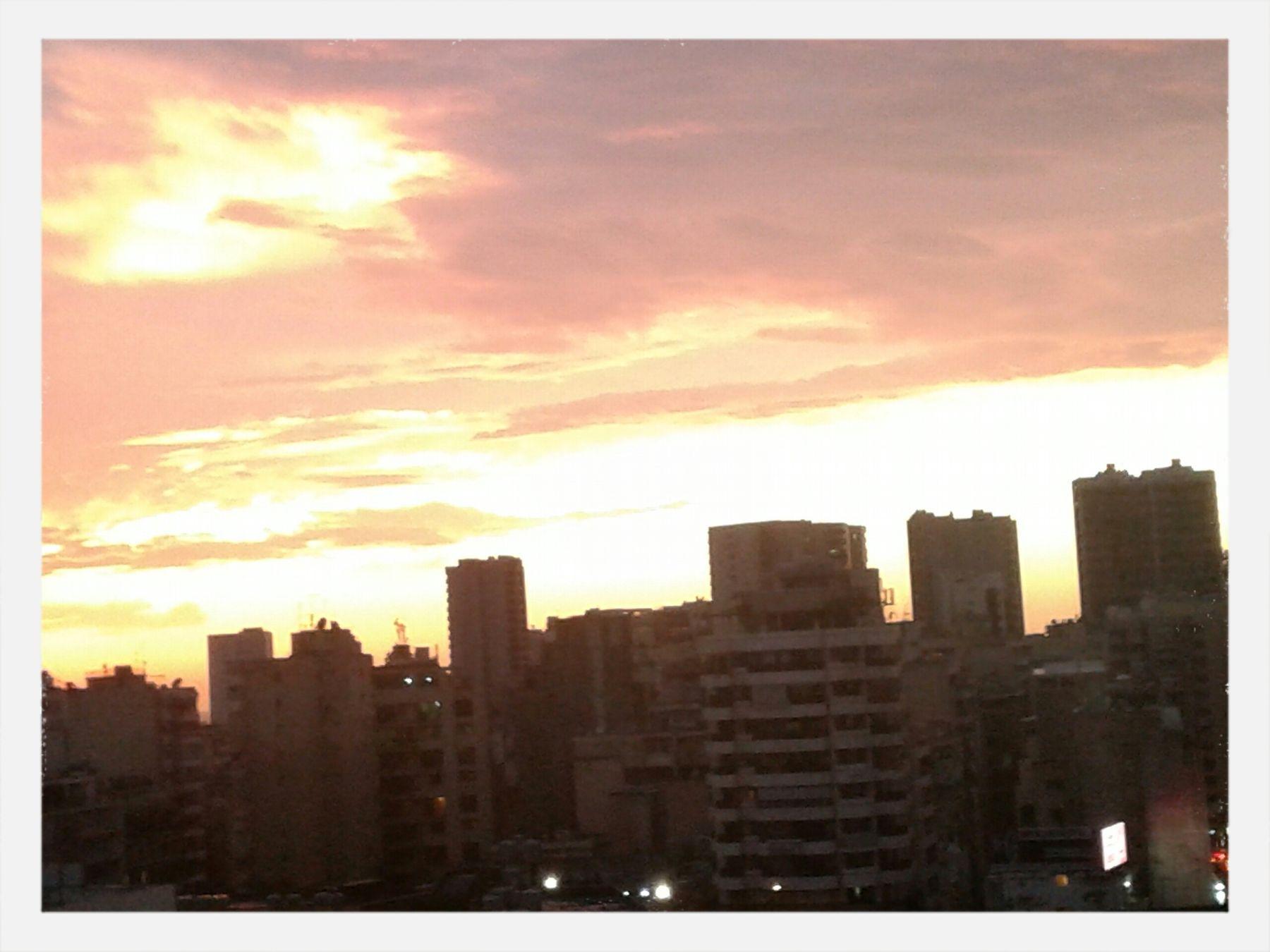 A view of sunset Enjoying The Sun First Eyeem Photo