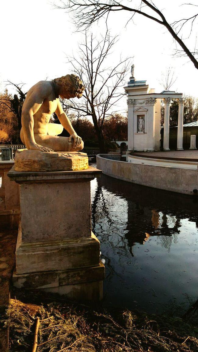 Spring sunbathe Lazienkikrolewskie Sculpture Spring Springtime Warsaw Sunbathing Sun Royalpark