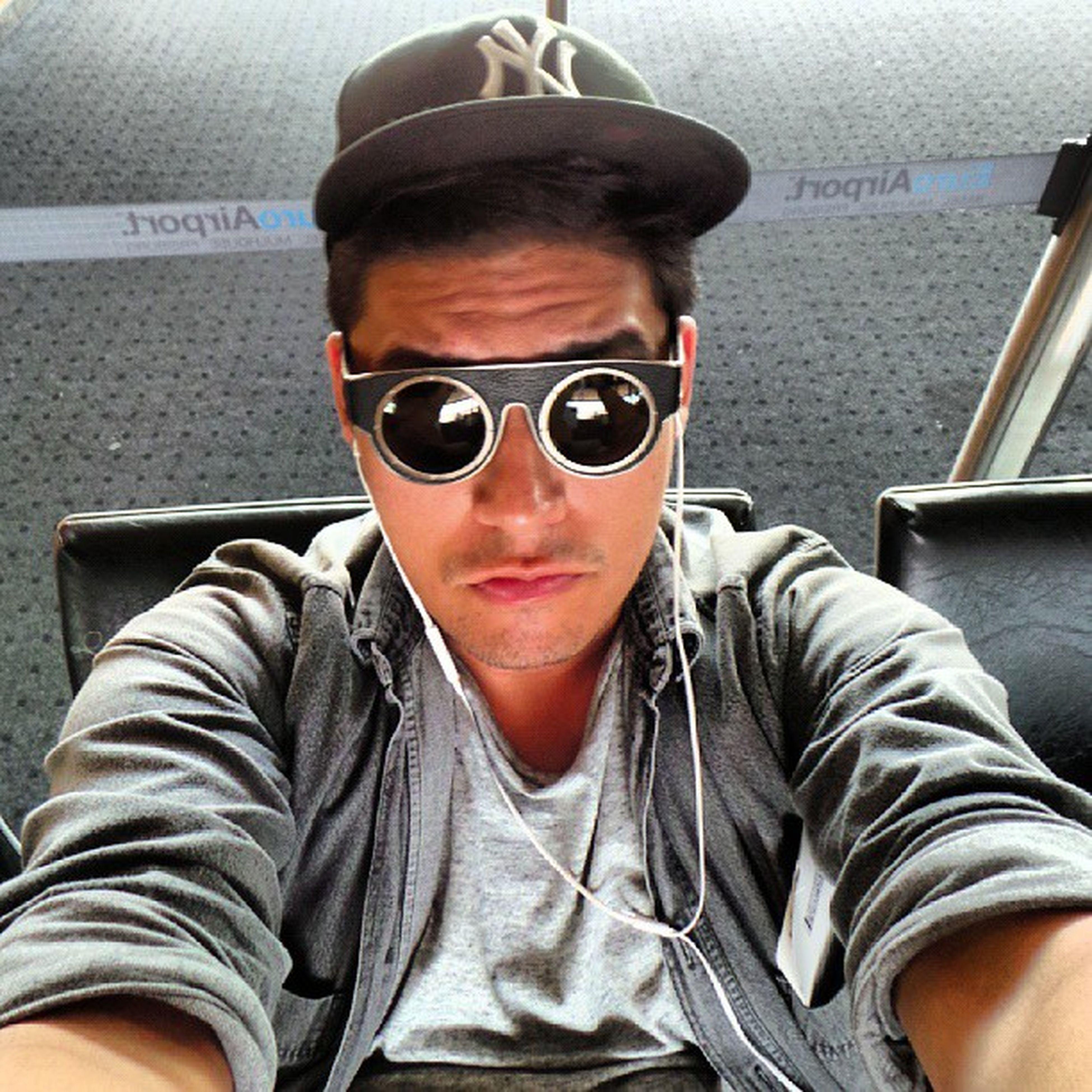 Not impressed with Basel Airport selfie!!! HateThisAirport BaselSucks Selfie VainBitch LindaFarrow KTZ Igers PandaGoingHome