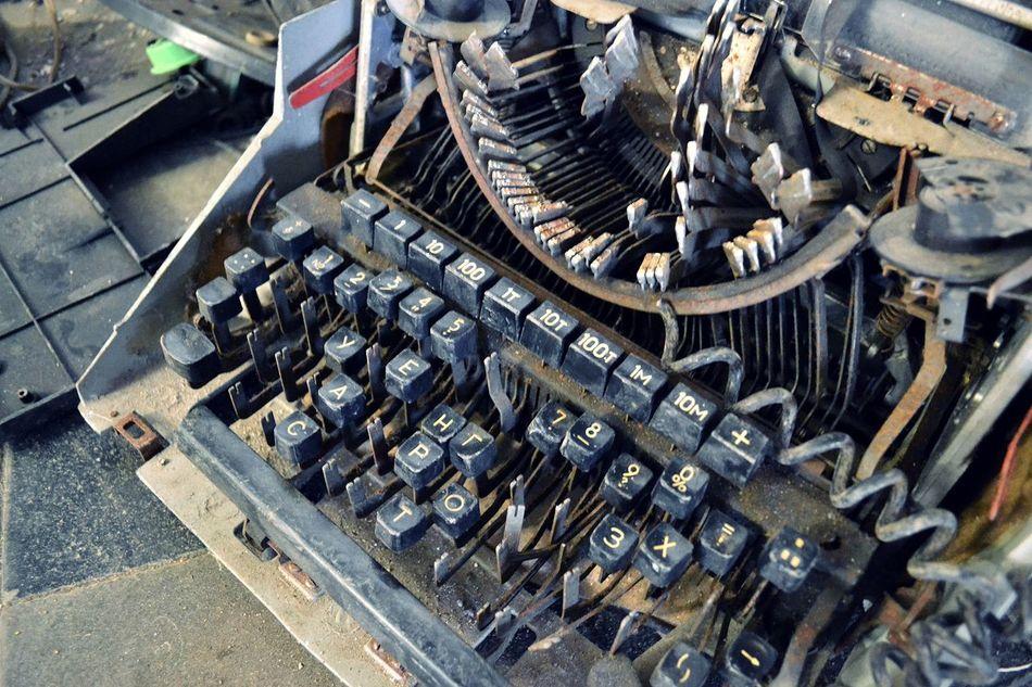 Close-up No People Indoors  Photography Typewriter Abandoned Abandoned Places Abandon_seekers Patarei Tallinn Estonia