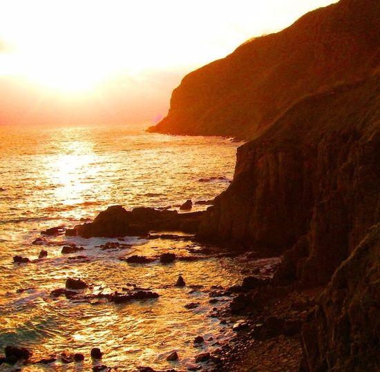 Sunset Hakodate Cape Tachimachi