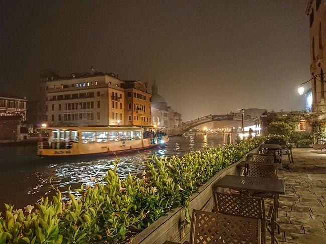 Principe Hotel Venice ..17th Century Architecture Night Water
