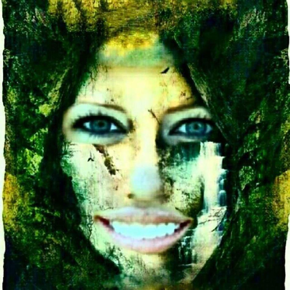 Miley Ray Cyrus Mileyraycyrus Photoshop Lacrime A Cascate Selfieimmortalata Nature #