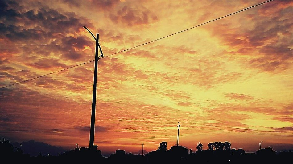 Clouds On Fire Sunset Nature Photography Lavasa City Pune India First Eyeem Photo