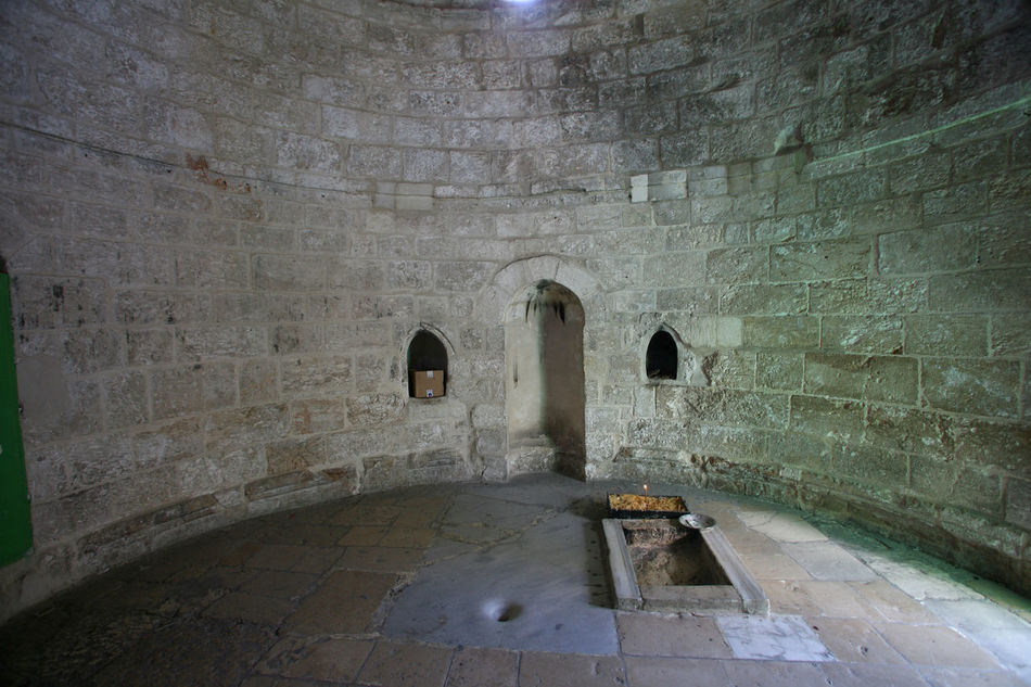 Chapel of the Ascension of Jesus Christ, Jerusalem, Israel Ancient Arch Architecture Ascension Chapel Christ Christianity Church City Holy Holy City Holy Land Israel Jerusalem Jesus Jesus Christ Middle East Mount Of Olives Old Palestine Pilgrimage Religion Wall Worship