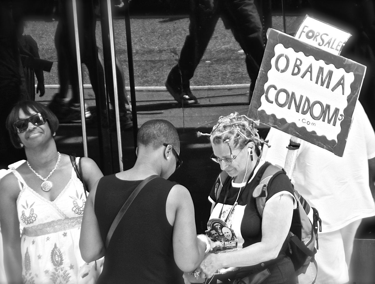 Communication Condom Day Men Obama Outdoors People Real People Text The Street Photographer - 2017 EyeEm Awards