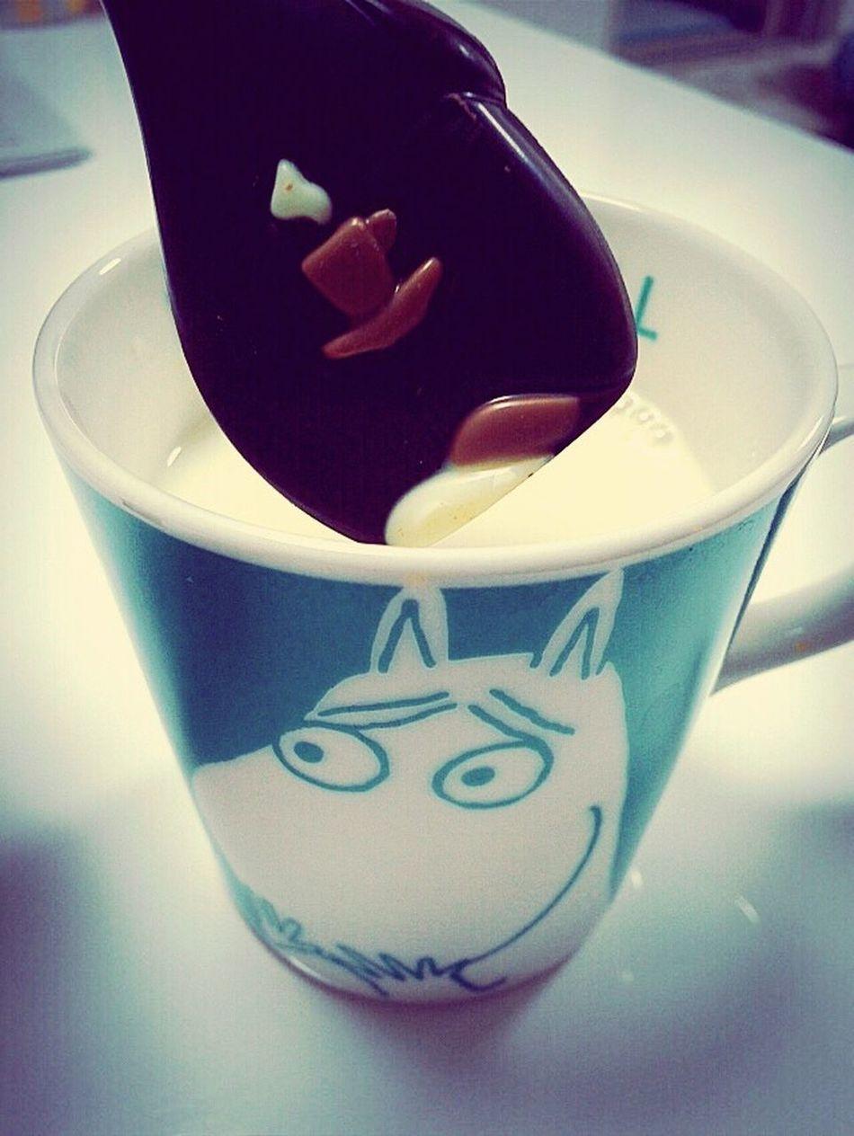Winter Hot Chocolate Milk ムーミン Night